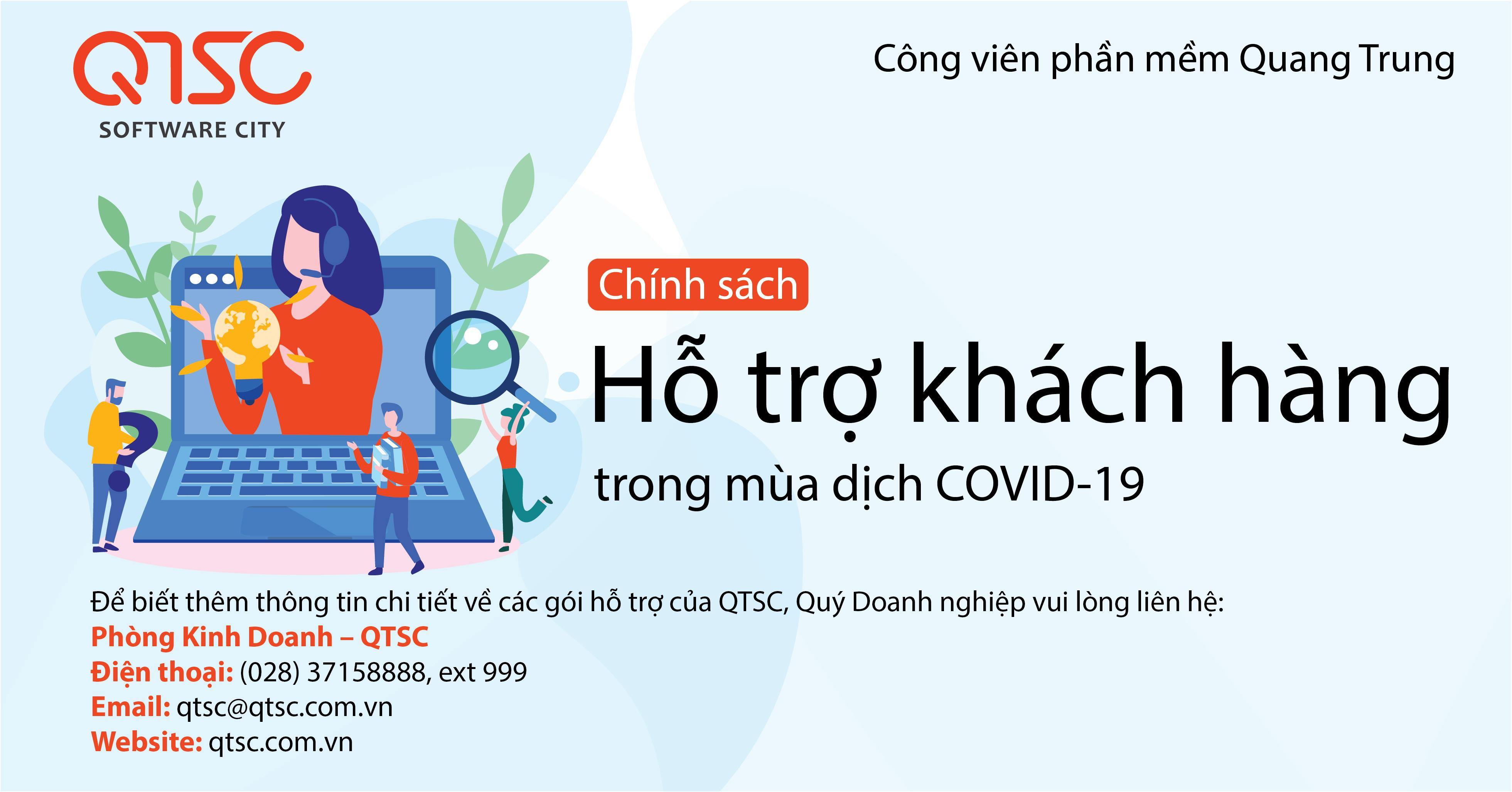 QTSC provides customer support package for COVID-19